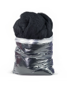 Carded Carbonised Felting Wool