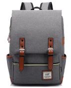 FreeMaster Vintage Unisex Casual School Bag Travel Laptop Backpack Rucksack Daypack Tablet Bags