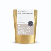 Grace & Stella Bath Bomb Rocks (Jasmine) - Best Gift Idea - Highest Quality Ingredients & Shea Butter for Moisturising Dry Skin - Ultra Lush Essential Oil Handmade Spa Fizzies - Relaxation Box