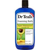 Dr Teal's Super Moisturiser Avocado Oil Foaming Bath, 1010ml