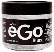 Hair GEL For MEN eGo Black (500ml) / Male Fragrance Extra STRONG