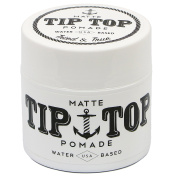 Tip Top Matte Water Based Medium Hold Pomade 130ml