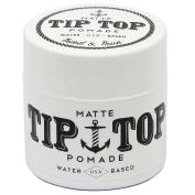 Tip Top Matte Water Based Medium Hold Pomade 130ml