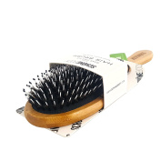 Schöne Body Boar Bristle Hair Brush, Helps Maintain and Control Frizzy, Unmanageable Hair, While the Pins Hair Detanlger and Massage Scalp For Healthy Hair
