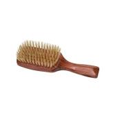 Harry D Koenig Club Shape Hair Brush Natural Bristle Rosewood