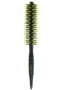 Mini Bangs modelling Round Hair Brush, Natural Boar Bristles Brush 4.1cm