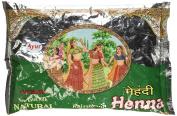 Ayur Rajasthani Henna (Mehandhi) Powder, 200g X 6 Pack