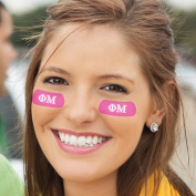 Eye Black - Phi Mu Colours