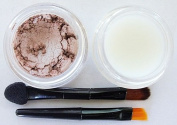 Grace My Face Minerals All Natural- Nude Lip Powder and Lip Balm with Applicators