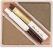Eyebrow Powder Duo Refill Light Brown (02) 5ml by Paul & Joe