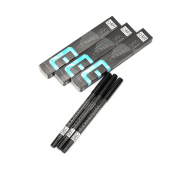 H88 3 Pcs Black Eyeliner Waterproof Pencil Pen Make Up Beauty Comestic