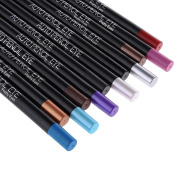 Redcolourful 12 Colours Rotating Eyeliner/ Eye Shadow Pencil