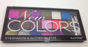 Santee New Colours Eyeshadow and Glitter Palette 02