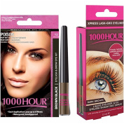 1000 Hour Eyelash Dye Kit & Eyeliner With Growth Serum Combo Pack!