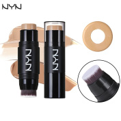 Face Forever Eye Concealer for Dark Circles, Puffiness,Pockmark, BB Cream + CC Cream inside two-in-one Moisturising and Sunscreen Concealer. Cream with Makup Brush.4 Colour Makeup Fix Friend.#02