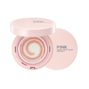 Tosowoong Pink Essence Tone Up Cushion 15g Brightening Anti Wrinkles Sunblock