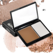Double Colour Stereo Bronzing Powder, #1