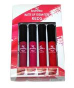 bonita Matte Lip Cream Set - REDS