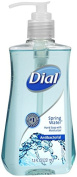 Dial Antibacterial Liquid Hand Soap with Moisturiser, Spring Water, 220ml