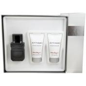 Attimo Set-Edt Spray 60ml & Aftershave Balm 50ml & Shampoo And Shower Gel 50ml