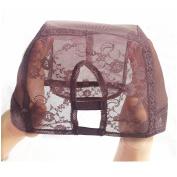 U part Weave Cap With Adjustable Straps Medium Size 2.5cm X 8.9cm U-Part