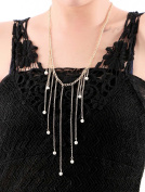 Aukmla Hot Bar Shaped Jewellery Necklaces for Women and Gilrs