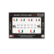 Miami - Face and Nail Sport Stick-Ons