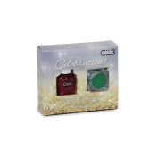 Celebration Kit Holiday Red with Green Glitter