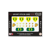 Oregon - Face and Nail Sport Stick-Ons