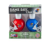 NCAA Game Day Duo Nail Polish - Kansas