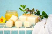Handmade Vegan Peppermint & Eucalyptus pink Salt soap bar