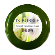 100% All Natural and Organic Chlorella. - Luxury Handmade Herbal Therapy Soap Bar.