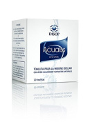 Acuaiss Eyelid Cleansing Wipes Containing Hyaluronic Acid and Aloe Vera. Box Contains 20 Wipes