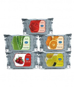 Ginni Refreshing Facial Wipes (Rose,Lemon,Aloevera,Strawberry,Orange) SD - With Complementary Gifts!!