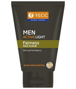 VLCC Men Active Light Face Scrub 100 gm SD - With Complementary Gifts!!