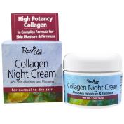 Reviva Labs, Collagen Night Cream, 45ml (42 g) - 2pc