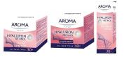 Hyaluron + Retinol Anti-Ageing 24-Hour Face-Care Set - Day Cream, Night Cream & Eye-Contour Serum by Aroma Face
