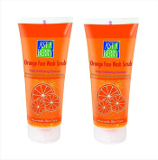 Astaberry Orange Face Wash Scrub( 100 Ml)-Daily Exfoliating Cleanser -Pack Of 2