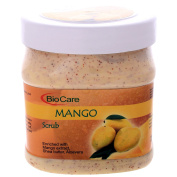 Biocare Mango Scrub Enriched With Mango Extract, Shea Butter, Aloe Vera 500 ML