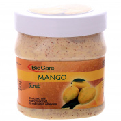 Biocare Mango Scrub Enriched With Mango Extract, Shea Butter, Aloe Vera 500 ML