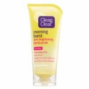 Clean & Clear Morning Burst Skin Brightening Facial Scrub, 150ml - 2pc