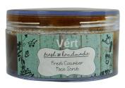 Vert Natural Handmade 100% Vegetarian Fresh Cucumber Face Scrub 50ml Parabens Free