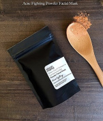 Savon Mama Green Clay + Turmeric + Sandalwood Red Acne-Fighting Powder Facial Mask - 60ml