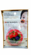 6 packs of ROJUKISS Wrinkle Mix Berry Serum Pads, made from naturally pure cotton with organic Mix Berry extracts. No SLS, No paraben, No alcohol. (15 ml/ 1 pack),