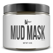 Dead Sea Mud Mask, 350ml/340g | All Natural Facial & Skin Treatment, Treats Acne, Reduces Wrinkles, Eliminates Cellulite | MADE IN THE USA