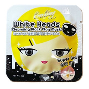 10 Packets of Cathy Doll White Heads Cleansing Black Clay Mask