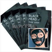 Eshylala 5 Pcs Mineral Mud Blackhead Cleaner Remover Nose Membranes Cleansing Pore Strips