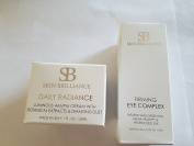 Skin Brilliance Firming Eye Complex and Daily Radiance combo