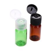 10Pcs 10ml Plastic Sample Bottle Split Charging Bottle for Toner Lotion Shower Gel Shampoo Etc Colour Random