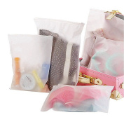 Waterproof Translucent Ziplock Organiser Packing Bags Subdivided Pouch 15pcs
